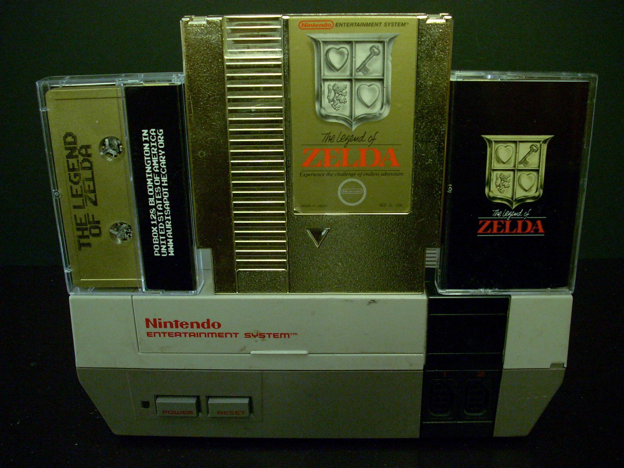 Auris Apothecary ::: AAX-041 : NES – The Legend of Zelda